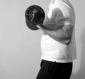 Exzentrisches Krafttraining am Beispiel des Armscurls